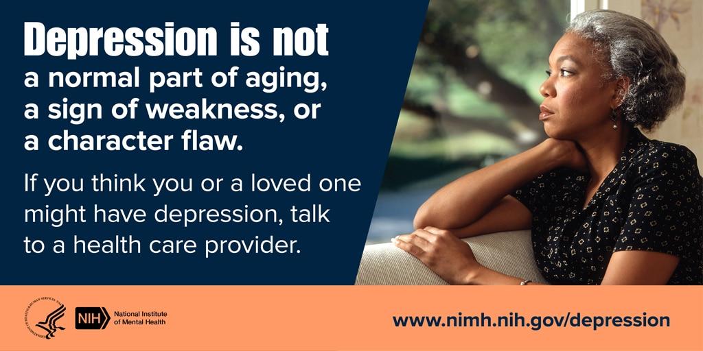 Depression older adults aging