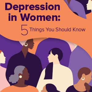 depression in women signs and treatment
