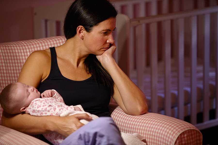 Postpartum depression symptoms and treatment